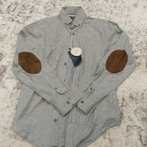 NWT Zara grey button up flannel collection